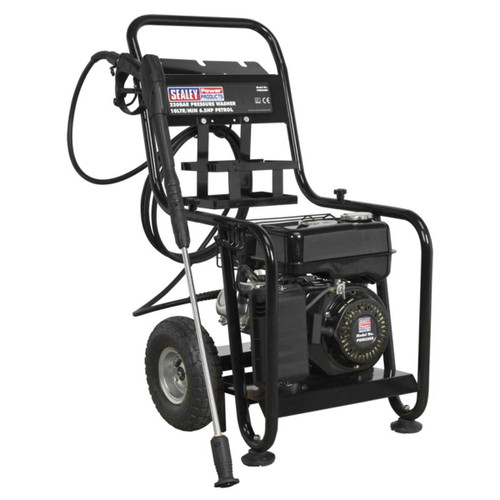 Buy Sealey PWM2500 Petrol Pressure Washer 220 Bar 10ltr/min 6.5hp  at Toolstop