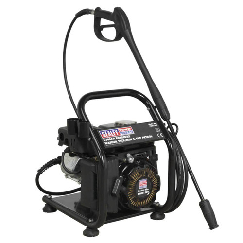 Buy Sealey PWM1300 Petrol Pressure Washer 130 Bar 7ltr/min 2.4hp  at Toolstop