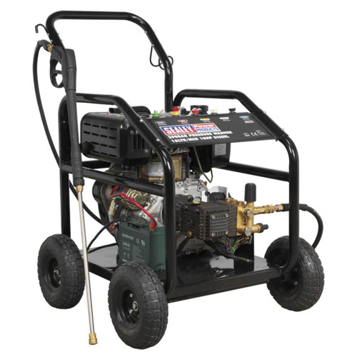 Buy Sealey PWDM3600 Diesel Pressure Washer 290 Bar 15ltr/min 10hp  at Toolstop