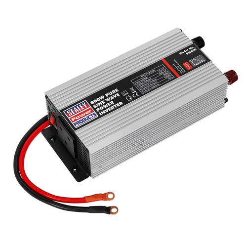 Sealey PSI800 Power Inverter Pure Sine Wave 800w 12v Dc - 240v 50hz