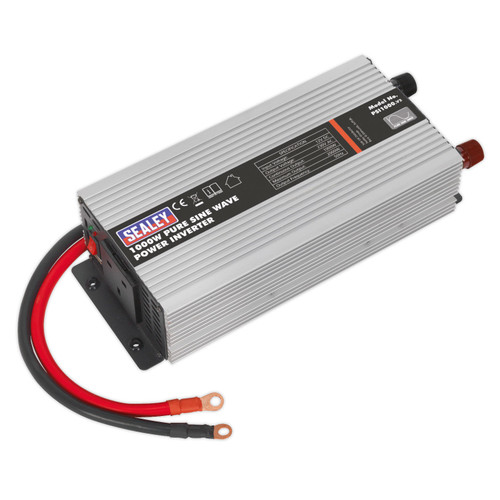 Sealey PSI1000 Power Inverter Pure Sine Wave 1000W 12V DC - 240V 50Hz - 1