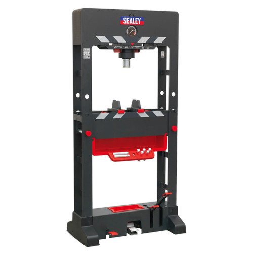 Buy Sealey PPF501 Premier Air/Hydraulic Press 50 Tonne Floor Type With Sliding Ram And Foot Pedal at Toolstop