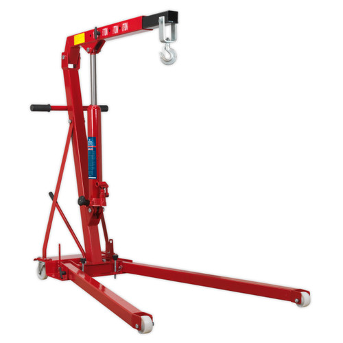 Buy Sealey PH10 Folding Engine Crane 1tonne at Toolstop