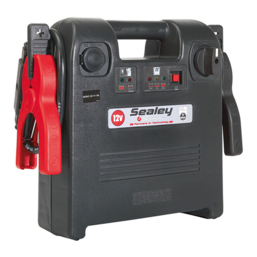 Buy Sealey PBI1812S Roadstart Emergency Power Pack 12V 1700 Peak Amps Dekra Approved at Toolstop