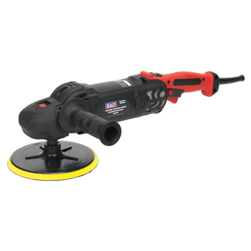 Buy Sealey MS925PS Sander/Polisher ∅180mm Variable Speed 1400W/240V at Toolstop
