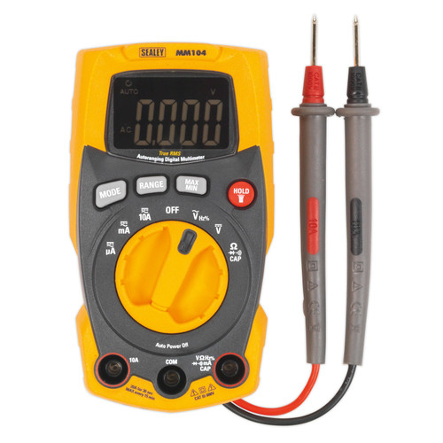 Buy Sealey MM104 Professional Auto-Ranging Digital Multimeter at Toolstop
