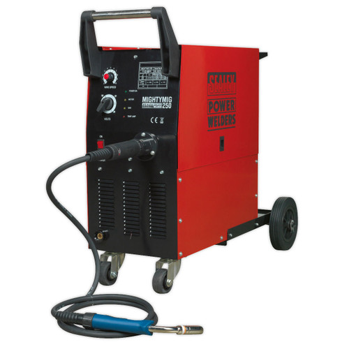 Buy Sealey MIGHTYMIG250 Professional Gas/no-gas Mig Welder 250amp With Euro Torch at Toolstop