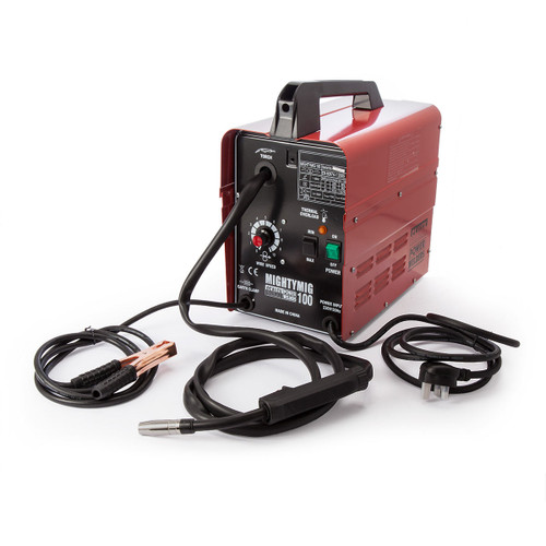 Sealey MIGHTYMIG100 Professional No-Gas Mig Welder 100Amp 240V - 3