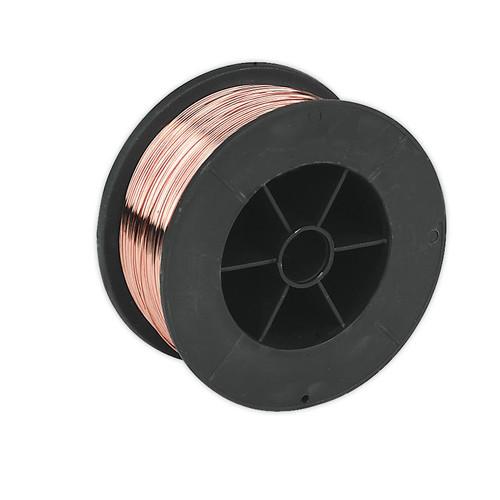 Buy Sealey MIG/7K06 Mild Steel Mig Wire 0.7kg 0.6mm A18 Grade at Toolstop