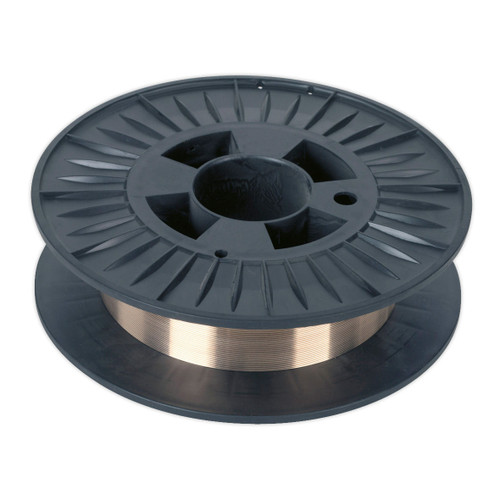 Buy Sealey MIG/4K/BW08 Mig Wire Copper Silicon Bronze 4.0kg 0.8mm C9 Grade at Toolstop