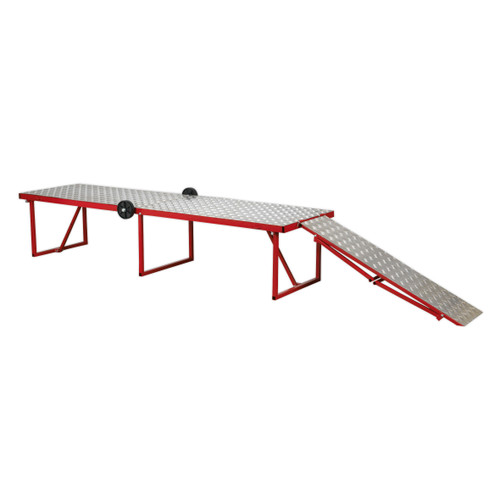 Buy Sealey MCW360 Motorcycle Portable Folding Workbench 360kg Capacity at Toolstop