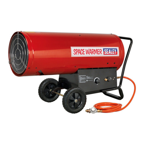 Buy Sealey LP401 Space Warmer Propane Heater 210,000-400,000Btu/hr at Toolstop