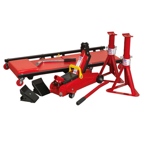 Buy Sealey JKIT01 Lifting Kit 2 Tonne 5 Piece for GBP60 at Toolstop