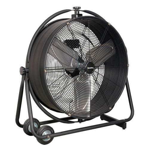 "Buy Sealey HVF24S Industrial High Velocity Orbital Drum Fan 24"" 240v at Toolstop"