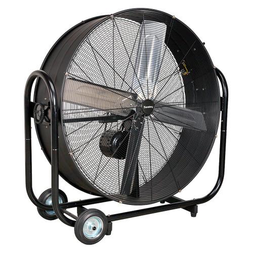 "Buy Sealey HVD42B Industrial High Velocity Drum Fan 42"" Belt Drive 240v at Toolstop"