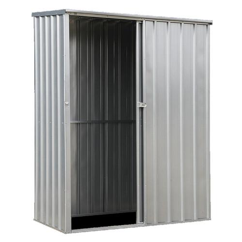 Sealey GSS150819SL Galvanized Steel Shed 1.5 X 0.8 X 1.9mtr Sliding Door - 1