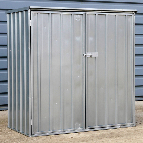 Sealey GSS150815 Galvanized Steel Shed 1.5 X 0.8 X 1.5mtr - 1