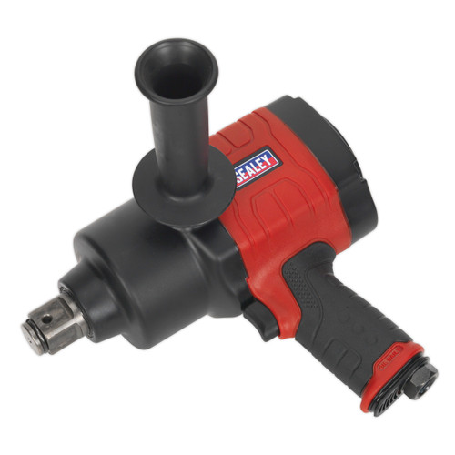 """Buy Sealey GSA6005 Air Impact Wrench 1"""" Square Drive Twin Hammer at Toolstop"""
