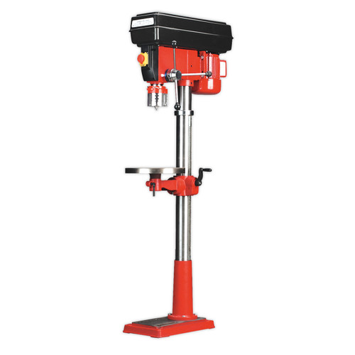 Buy Sealey GDM200F/VS Pillar Drill Floor Variable Speed 1630mm Height 650w/240v at Toolstop