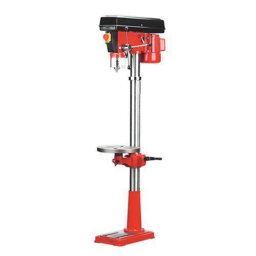 Buy Sealey GDM160F Pillar Drill Floor 16-Speed 1580mm Height 550W / 240V at Toolstop