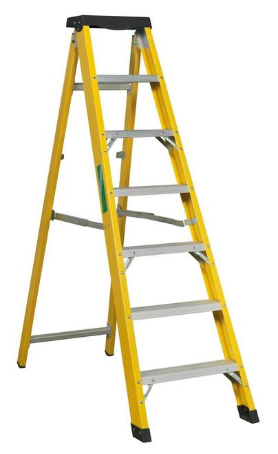 Buy Sealey FSL7 Fibreglass Step Ladder 6-tread En 131 at Toolstop