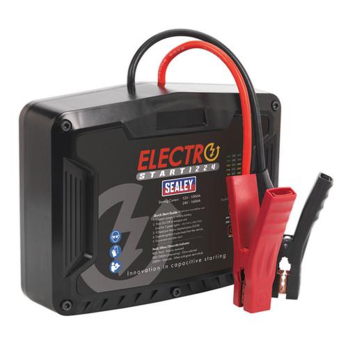 Sealey E/START1224 ElectroStart Batteryless Power Start 1000 / 1600A 12 / 24V - 2