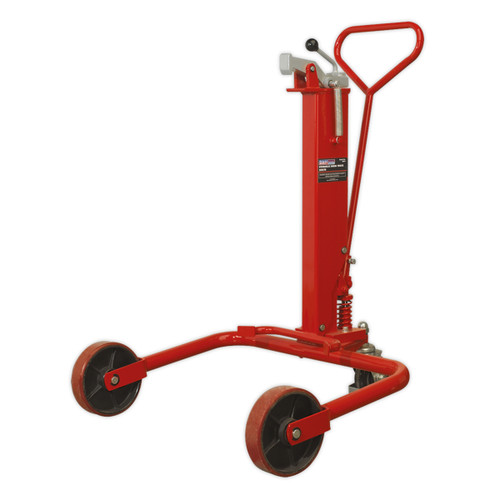 Buy Sealey DH01 Hydraulic Drum Truck 205ltr at Toolstop