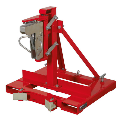 Buy Sealey DG06 Gator Grip Forklift Drum Grab 400kg Capacity at Toolstop