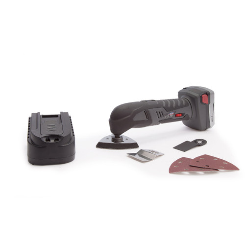Sealey CPMT18V Cordless Lithium-ion Oscillating Multi-tool 18V with Accessories (1 Battery) - 5