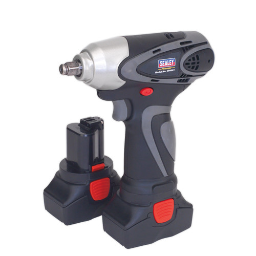 Buy Sealey CP6001 14.4V Cordless Impact Wrench 3/8in Square Drive 140nm (2 x 2.0Ah Batteries) at Toolstop