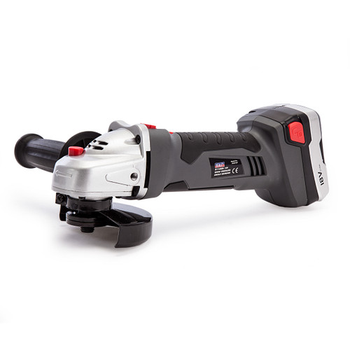 Sealey CP5418V 18V Cordless Angle Grinder 115mm (2 x 1.3Ah Batteries) - 4