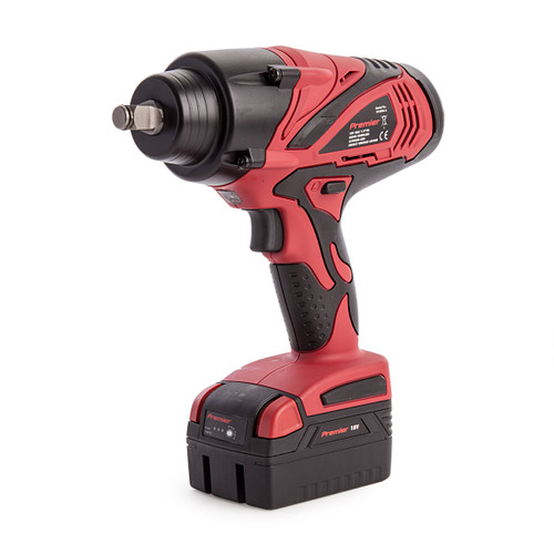 Sealey CP3005 18V Cordless Impact Wrench 1/2in Square Drive 650Nm (2 x 4.0Ah Batteries) - 3
