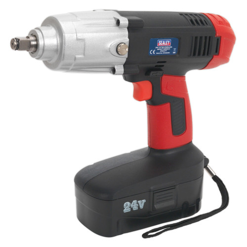 Buy Sealey CP2450MH 24V Cordless Impact Wrench  1/2in Square Drive - 1 Battery for GBP149.17 at Toolstop