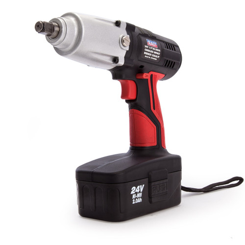 Sealey CP2400MH 24V Cordless Impact Wrench 1/2in Drive (1 x 2.0Ah Battery) - 4
