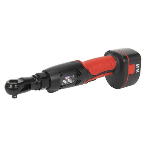 "Buy Sealey CP2144MH Cordless Ratchet Wrench 14.4v 2ah Ni-mh 3/8""sq Drive at Toolstop"