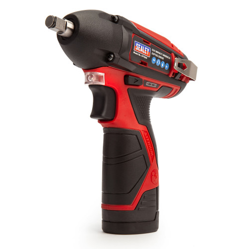 Sealey CP1204KIT 12V Impact Wrench Kit 3/8in Square Drive (2 x 1.5Ah Batteries) - 4