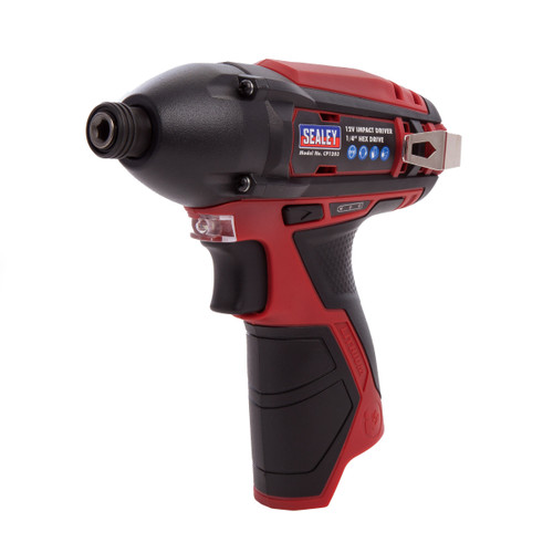 "Sealey CP1203 12V Impact Driver 1/4"" Hex Drive 80nm (Body Only) - 1"