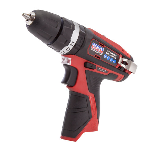 Sealey CP1201 12V Cordless Hammer Drill / Driver (Body Only) - 1