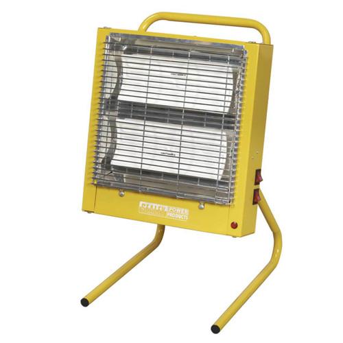 Buy Sealey CH28110V Ceramic Heater 1.4/2.8kw 110v at Toolstop