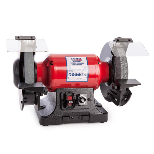 Sealey BG200WVS Bench Grinder ∅200mm Variable Speed 240V - 3