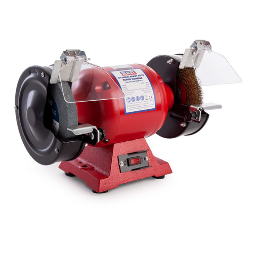 Sealey BG150XW/99 Heavy-Duty Bench Grinder 150mm With Wire Wheel 450W / 240V - 4