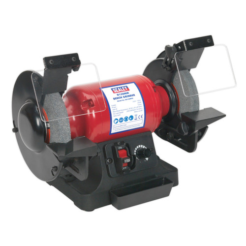 Buy Sealey BG150WVS Bench Grinder ∅150mm Variable Speed 240V at Toolstop