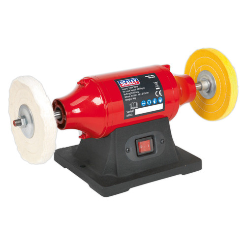 Buy Sealey BB1502 Bench Mounting Buffer/polisher 150mm 370w/240V at Toolstop
