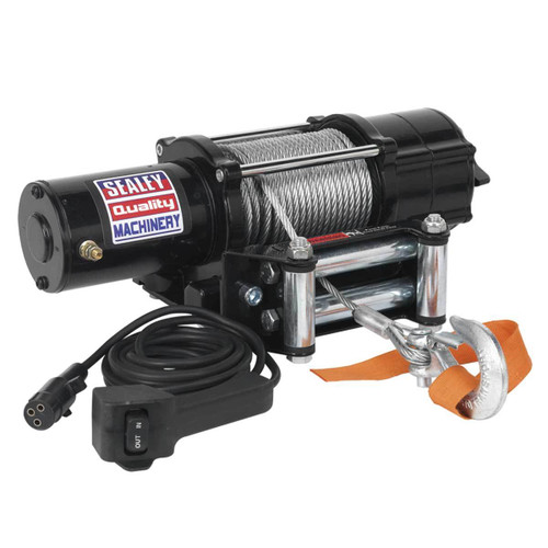 Buy Sealey ATV2040 Atv/quad Recovery Winch 2040kg Line Pull 12v at Toolstop