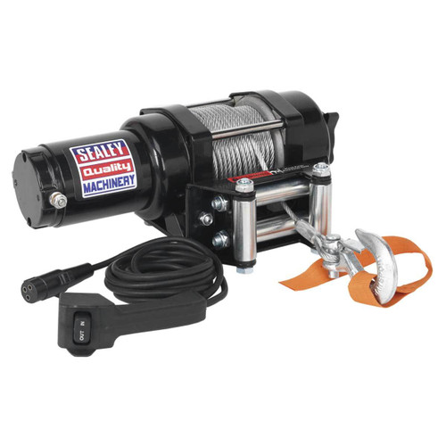 Buy Sealey ATV1135 Atv/quad Recovery Winch 1135kg Line Pull 12v at Toolstop