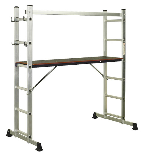 Buy Sealey ASCL2 Aluminium Scaffold Ladder 4-way En 131 at Toolstop