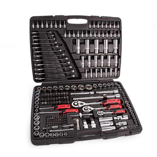 Sealey AK7956 Metric Socket Set 1/4, 3/8, 1/2in Square Drive 6pt WallDrive (216 Piece) - 5