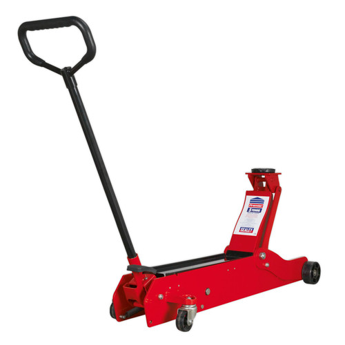 Buy Sealey 5000ES Trolley Jack 5tonne European Style at Toolstop