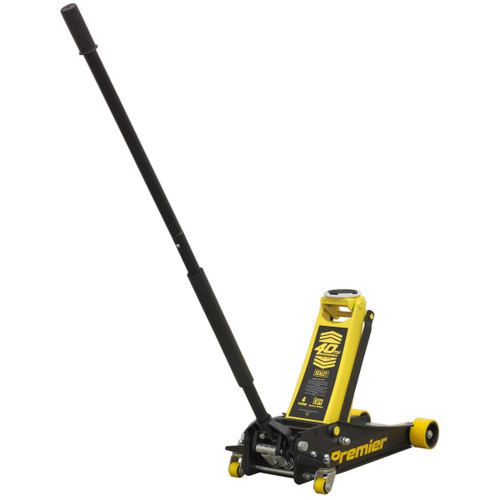 Buy Sealey 4040AY Trolley Jack Rocket Lift 4 Tonne (Yellow) at Toolstop