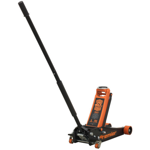 Buy Sealey 4040AO Trolley Jack Rocket Lift 4 Tonne (Orange) at Toolstop